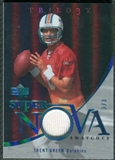 2007 Upper Deck Trilogy Supernova Swatches Platinum #TG Trent Green 3/3