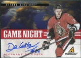 2011/12 Panini Pinnacle Game Night Signatures #21 Stephane Da Costa Autograph