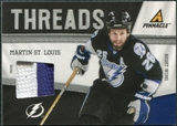 2011/12 Panini Pinnacle Threads Prime #8 Martin St. Louis /50