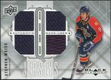 2009/10 Upper Deck Black Diamond Jerseys Quad #QJWE Stephen Weiss