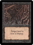 Magic the Gathering Alpha Single Evil Presence - NEAR MINT (NM)