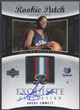 2004/05 Exquisite Collection #43 Andre Emmett Rookie Patch Auto #078/225