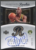 2004/05 Exquisite Collection #82 Damien Wilkins Rookie Auto #029/225