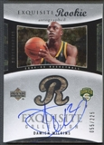 2004/05 Exquisite Collection #82 Damien Wilkins Rookie Auto #055/225