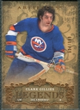 2008/09 Upper Deck Artifacts #118 Clark Gillies LEG /999