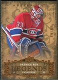 2008/09 Upper Deck Artifacts #124 Patrick Roy LEG /999