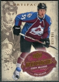 2008/09 Upper Deck Artifacts #227 Cody McLeod RC /999