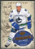 2008/09 Upper Deck Artifacts #230 Mike Brown RC /999