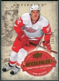 2008/09 Upper Deck Artifacts #239 Jonathan Ericsson RC /999