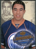 2008/09 Upper Deck Artifacts #240 Theo Peckham RC /999