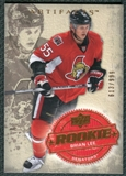 2008/09 Upper Deck Artifacts #247 Brian Lee RC /999