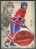 2008/09 Upper Deck Artifacts #252 Matt D'Agostini RC /999