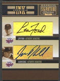 2005 Donruss Signature #31 Lew Ford Jason Kubel INKcredible Combos Auto