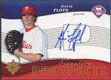 2005 Ultimate Signature #106 Gavin Floyd Auto #017/225