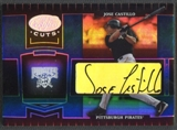 2004 Leaf Certified Cuts #153 Jose Castillo Marble Signature Blue Auto #02/75
