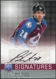 2008/09 Upper Deck Be A Player Signatures #SBG Ben Guite Autograph