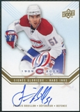 2008/09 Upper Deck Montreal Canadiens Centennial Habs INKS #HABSFB Francis Bouillon Autograph