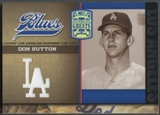 2005 Donruss Greats #6 Don Sutton Dodger Blues LA Material Jersey