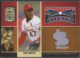 2005 Donruss Greats #8 Lee Smith Redbirds Material Jersey