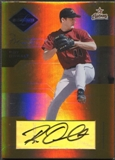 2005 Leaf Limited #45 Roy Oswalt Monikers Gold Auto #18/25