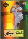 2005 Leaf Limited #109 Keith Foulke Monikers Gold Auto #07/25