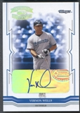 2005 Throwback Threads #110 Vernon Wells Signature Marks Auto #08/25