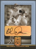 2005 Donruss Greats #69 Rob Dibble Signature Gold HoloFoil Auto