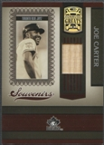 2005 Donruss Greats #2 Joe Carter Souvenirs Material Bat