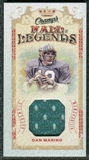 2009/10 Upper Deck Champ's Hall of Legends Memorabilia #HLDM Dan Marino