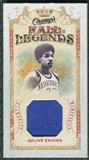 2009/10 Upper Deck Champ's Hall of Legends Memorabilia #HLJE Julius Erving