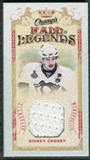 2009/10 Upper Deck Champ's Hall of Legends Memorabilia #HLSC Sidney Crosby