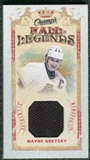 2009/10 Upper Deck Champ's Hall of Legends Memorabilia #HLWG Wayne Gretzky