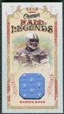 2009/10 Upper Deck Champ's Hall of Legends Memorabilia #HLWM Warren Moon