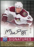 2008/09 Upper Deck Be A Player Signatures Player's Club #SMI Mikkel Boedker Autograph /15