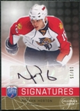 2008/09 Upper Deck Be A Player Signatures Player's Club #SNH Nathan Horton Autograph /15