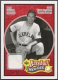 2005 Upper Deck Baseball Heroes #3 Bob Feller Memorabilia Red Pants #27/99
