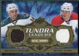 2008/09 Upper Deck Artifacts Tundra Tandems Gold #TTCR Jonathan Cheechoo Michael Ryder /25