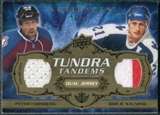 2008/09 Upper Deck Artifacts Tundra Tandems Gold #TTFS Peter Forsberg Borje Salming /25