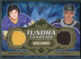 2008/09 Upper Deck Artifacts Tundra Tandems Gold #TTRD Luc Robitaille Marcel Dionne /25