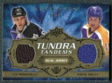 2008/09 Upper Deck Artifacts Tundra Tandems Gold #TTRS Luc Robitaille Steve Shutt /25