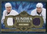 2008/09 Upper Deck Artifacts Tundra Tandems Gold #TTSH Jarret Stoll Shawn Horcoff /25