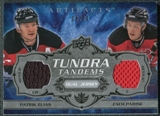 2008/09 Upper Deck Artifacts Tundra Tandems Silver #TTEP Patrik Elias Zach Parise /50