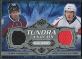 2008/09 Upper Deck Artifacts Tundra Tandems Silver #TTFB Peter Forsberg Nicklas Backstrom /50
