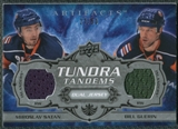 2008/09 Upper Deck Artifacts Tundra Tandems Silver #TTGS Bill Guerin Miroslav Satan /50