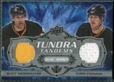 2008/09 Upper Deck Artifacts Tundra Tandems Silver #TTPN Chris Pronger Scott Niedermayer /50