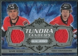 2008/09 Upper Deck Artifacts Tundra Tandems Silver #TTRC Wade Redden Mike Commodore /50
