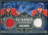 2008/09 Upper Deck Artifacts Tundra Tandems Silver #TTWH Stephen Weiss Nathan Horton /50