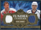 2008/09 Upper Deck Artifacts Tundra Tandems Bronze #TTLG Rod Langway Mike Green /75