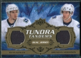 2008/09 Upper Deck Artifacts Tundra Tandems Bronze #TTMK Ryan Kesler Brendan Morrison /75