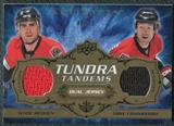 2008/09 Upper Deck Artifacts Tundra Tandems Bronze #TTRC Wade Redden Mike Commodore /75